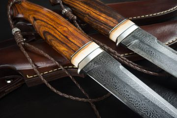 Blades made with Damascus Steel